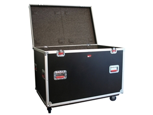 "Gator G-TOURTRK4530HS,Truck Pack Trunk w/ Casters - 45"" x 30"" x 30"""