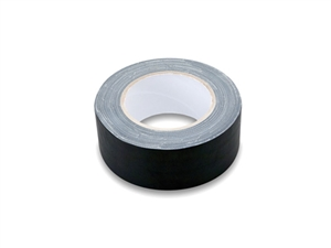 GFT-526BK BULK Gaffer Tape, Black, 2 in x 30 yd, Hosa