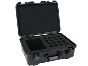 Gator GM-16-MIC-WP - Waterproof mic case-16 mics
