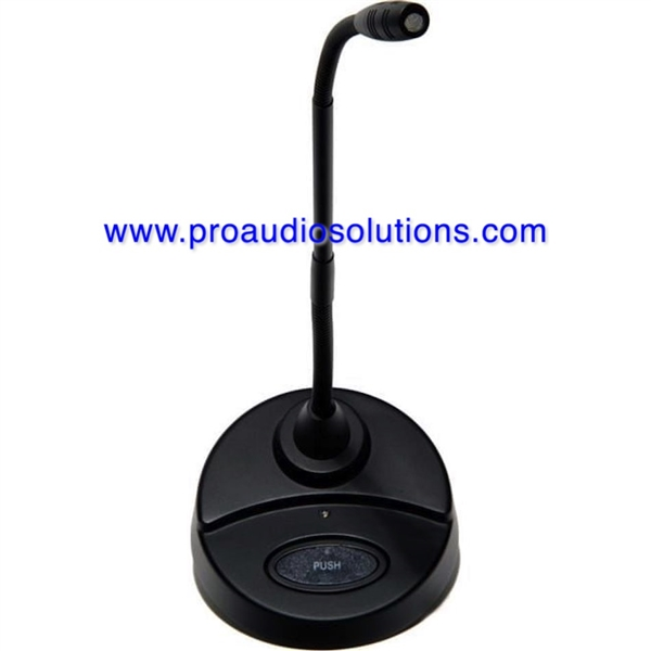 CAD GN15VPD 15 inc Desk Stand Gooseneck Microphone, Continuosly Variable Polar Pattern, Integrated Desk Stand