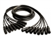 Mogami GOLD 8 XLR-XLR-05, 8-Ch XLRF to XLRM Snake Cable. 5 Ft.