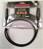 Mogami GOLD TRS-TRS-03, Cable. 3 Ft. 1/4 TRS to 1/4 TRS GOLD neutrik connectors