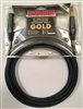 Mogami GOLD-TRSXLRF-15, Patch Cable, 1/4 TRS to XLRF, 15 Ft.