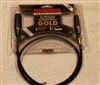 Mogami GOLD TRSXLRM-03 Patch Cable 1/4 TRS to XLRM 3 Ft. Gold neutrik connectors