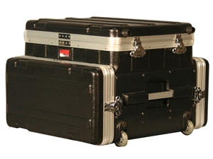 Gator GRC-STUDIO4GO-W - ATA Laptop or Mixer Case Over 4U Audio Rack