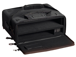 Gator GSR-2U - Laptop and 2-Space Audio Rack Bag