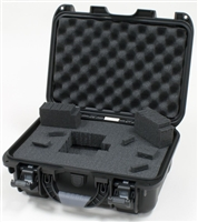 "Gator GU-1309-06-WPDF ,waterproof injection molded case, interior dimensions,13.8"" x 9.3"" x 6.2"". DICED FOAM"