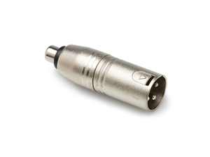 Hosa GXM-133 Adaptor - RCA Female to XLR Male Adaptor