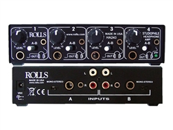 Rolls HA243 4 CH Studiophile Headphone Amp