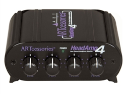 ART Audio HeadAMP 4 - Eight Output Stereo Headphone Amp