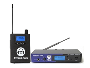 Hear Technologies Freedom Back System Band A (584-608 MHz)