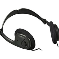 Electro-Voice HED-2, Collapsible lightweight headphone.