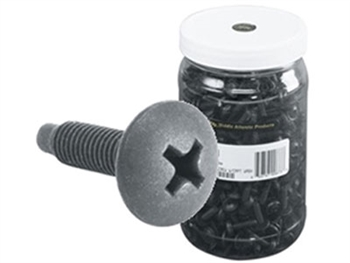 Middle Atlantic HM500 - 10-32 Phillips Premium Screws w/Washers, 500 pc, Black