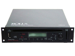 Rolls HR72 CD/MP3 disc player, 1/2 rack space