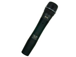 Electro-Voice HTU2C-410-A, 1112 Channel Wireless handheld transmitter with RE410 cardioid condenser element.