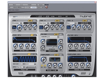 AVID Digidesign Hybrid  1.0 - High-Definition Software Synthesizer