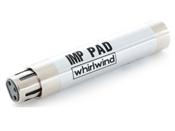 Whirlwind IMP PAD20, In-Line 20dB Pad