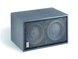 "Bag End IPD10E-I - Infra Powered Black Painted Double  10"" Installation Enclosure"