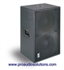 "Bag End IPD12E-R - Infra Powered RO-TEX Finish Double 12"" Portable Enclosure"