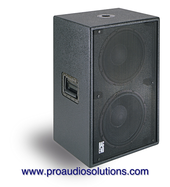 "Bag End IPD12E-R - Infra Powered RO-TEX Finish Double 12"" Active Subwoofer"