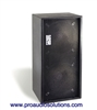 "Bag End IPD18E-I - Infra Powered Black Painted Double 18"" Installation Enclosure"