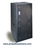 "Bag End IPD18E-R - Infra Powered RO-TEX Finish Double 18"" Portable Enclosure w/ Casters"