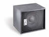 "Bag End IPS12E-I - Infra Powered Black Painted Single 12"" Installation Enclosure"