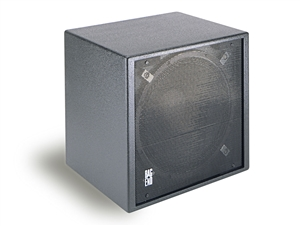 "Bag End IPS18E-I - Infra Powered Black Painted Single 18"" Installation Enclosure"