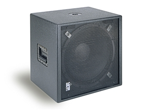 "Bag End IPS18E-R - Infra Powered RO-TEX Finish Single 18"" Portable Enclosure"