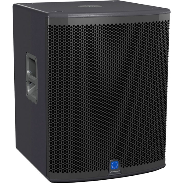 "Turbosound  IQ15B 3000 Watt 18"" Powered Subwoofer with KLARK TEKNIK DSP Technology, Speaker Modelling and ULTRANET Networking"