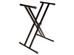 Ultimate Support IQ-2000 Double Brace Keyboard Stand