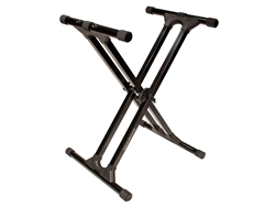 Ultimate Support IQ-3000 Double Brace Keyboard Stand