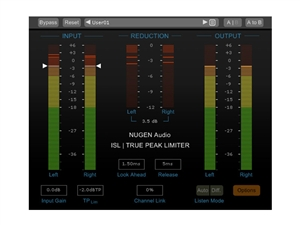 Nugen Audio ISL True Peak Limiter (Download)