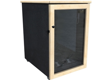 Sound Construction IsoBox Post 18RUx45 - 18-Space - 24-inchW x 45-inchD x 41-inchH