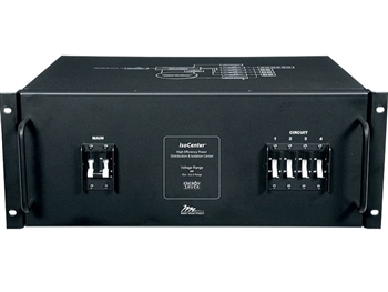 Middle Atlantic ISOCTR-5R-208-NS - IsoCenter Rackmount Isolation Transformer & Load Center, 208V@1Ohm