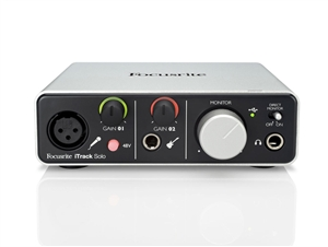 Focusrite iTrack Solo - Lightning USB Audio Interface