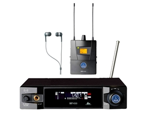 AKG IVM4500 IEM (In-Ear Monitoring System) 100mW Set