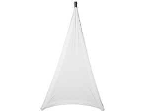 JBL JBL-STAND-STRETCH-COVER-WH-1 White Stretchy Cover for Tripod Stand, 1 Side