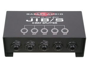 "Galaxy Audio JIB/S - 4-Way 1/4"" Monitor Splitter"