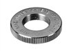 "Latch Lake JNCH Jam Nut, Chrome, 5/8""-27 Heavy Duty Threaded Stop"