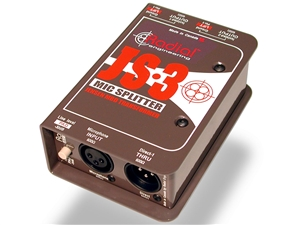 Radial Engineering JS-3 Jensen-equipped Passive Mic Ssignal Splitter