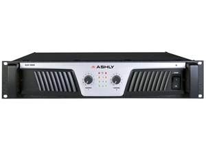 Ashly KLR-2000 - Power Amplifier 2 x (1,000W @ 2)(600W @ 4)(350W @ 8) Ohms