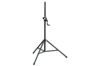 K&M 213, SINGLE Power Crank-Up Speaker Stand, SINGLE