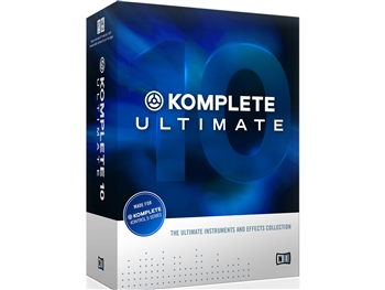 Native Instruments Komple 10 Ulitmate Upgrade from Komplete Ultimate 8/ 9