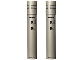 Shure KSM137/SL ST Pair Cardioid Condenser Matched Stereo Microphones