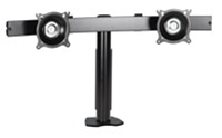 Chief KTC220B, Flat Panel Dual Horizontal Desk Clamp Mount