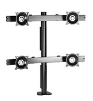 Chief KTC440S, Flat Panel Quad Monitor Desk Clamp Mount