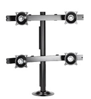 Chief KTG440B, Flat Panel Quad Monitor Grommet Mount
