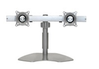 Chief KTP220S, Flat Panel Dual Horizontal Monitor Table Stand