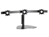 Chief KTP320B, Flat Panel Triple Monitor Horizontal Table Stand